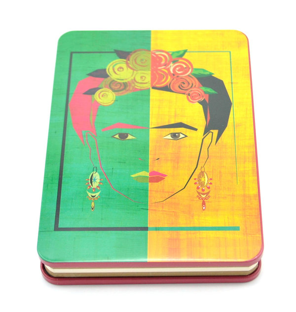 Notizbuch metallic Frida